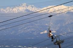 北アルプス展望スキー場