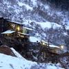 厳冬期の採掘場