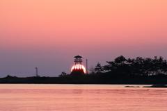 故郷の夕陽