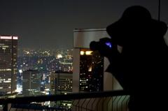 都会の灯り