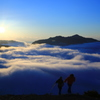迫り来る雲海