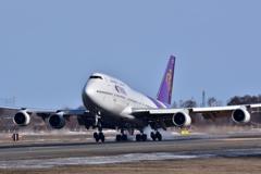 Boeing747 Landing