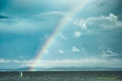 虹に出逢えた…夏゚・*:.。. .。.:*・゜