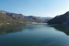 何を隠そうダム湖も綺麗・・・