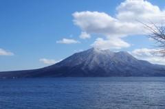 支笏湖風景・・・