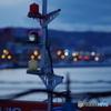 漁港の日暮れ・・・