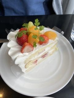 お気に入りのケーキ屋