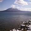 ヤシカマットで撮る支笏湖・・・