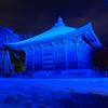 善光寺灯明祭り(青いの)