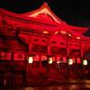 善光寺灯明祭り(赤いの)