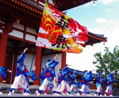 バサラ祭り in 天平たなばた祭り2018