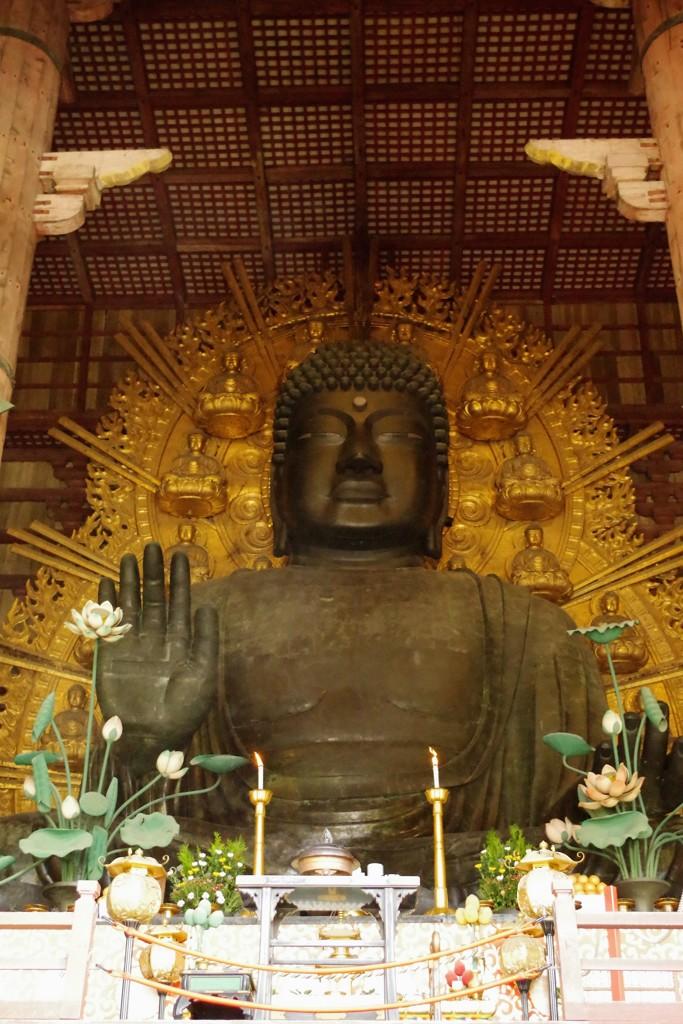 奈良の大仏様(盧舎那仏坐像)