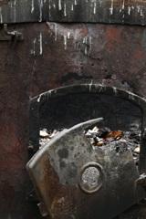 古い焼却炉