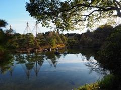都会の中の日本庭園