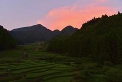 四谷の夕焼け