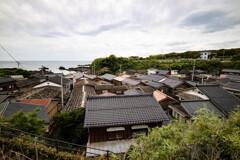 海辺の屋根