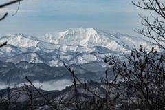 西会津からの眺め