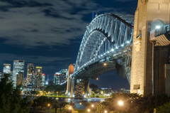 Sydney Harbour Bridge - Night Life 4