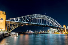 Sydney Harbour Bridge - Night Life 2