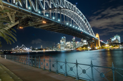 Sydney Harbour Bridge - Night Life 1