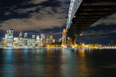 Sydney Harbour Bridge - Night Life 3
