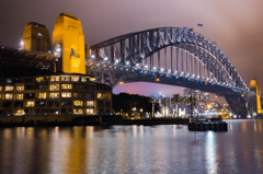 Sydney Harbour Bridge - Night Life 5