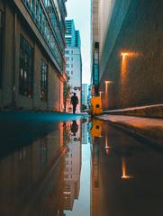 水たまりの街 9