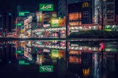 水たまりの街 5