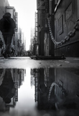水たまりの街 1