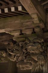 木彫りの守護者