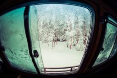 前略、雪上車の中から