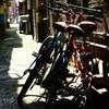 3人乗りの自転車
