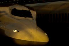 浜松駅で新幹線