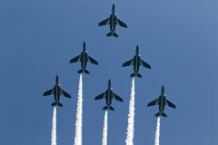 静浜基地 航空祭 ブルーインパルス 予行