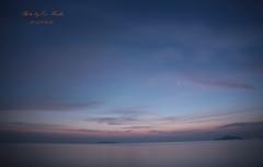 日の出を待つ