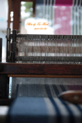 手織り時代の織機