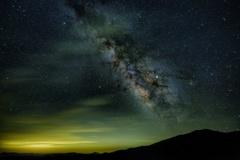 氷ノ山と銀河