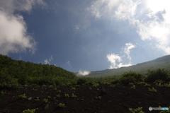 富士山六合目から