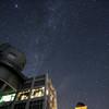 天文台と星空②
