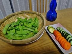 第二千百四十九作 「まだはしりという それでも食ひたい 枝豆である」 東京都多摩