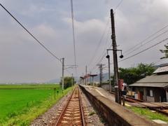 第二千二百十九作 「炎天をいただひて 陽炎の鉄路を」 愛媛県西条
