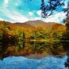 第二千二百九十三作 「御池しんしんと  秋の気映す」 福井県幅ヶ平