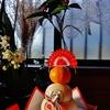 第二千一作  「ひつそり閑と 新年のお慶びです」 東京都多摩