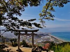 第二千四百六十八作 「心しづかに 瀬戸の気を吸ふ」 香川県観音寺