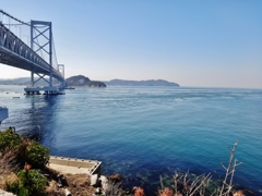 第千七百七十六作  「けふは凪てゐる 海峡渡るか 渡るまいか」 兵庫県南淡路