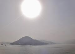 第二千四百六十六作 「春霞む 染みては消えゆ 島から島」 山口県周防大島
