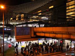 大阪駅の夜Ⅱ