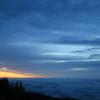 朝焼けと空と雲の海