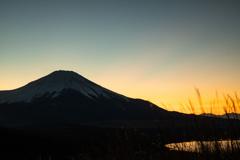 初春の富士三景