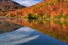 秋の湖畔(1)